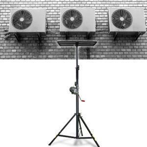 Elevadora de carga para instalación climatización HVAR