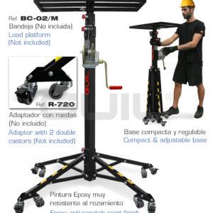 Adaptadores para la torre de Elevación ELC-720