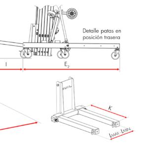 Detalles del mejor elevador de carga TORO D-407