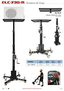 Elevador telescópico para equipos de AA