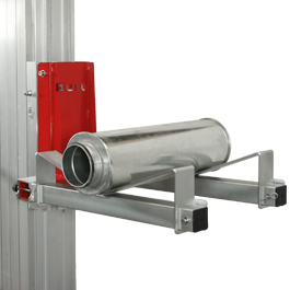 Pipe cradle to lift curved loads - ACT-01-L