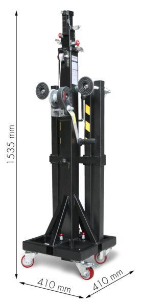 ELC-750 Plegada - Cotas - SIN POMO SUPERIOR