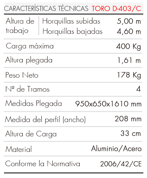Elevador-de-Carga-TORO-D-403-C-Tabla