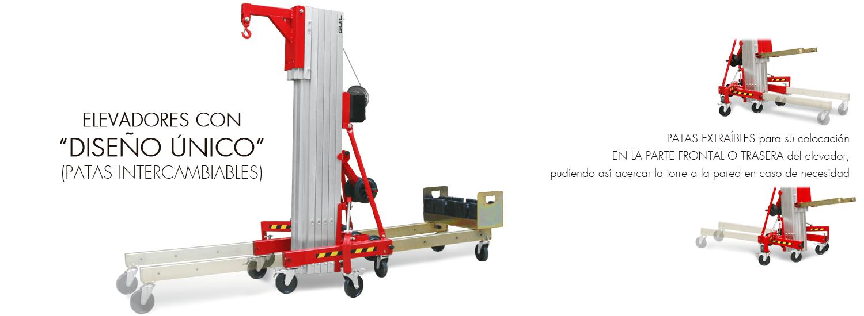 Elevador de carga TORO C