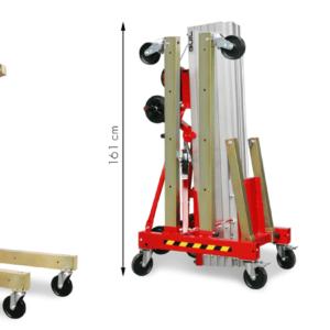 Elevador industrial para cargas pesadas