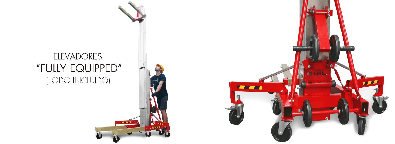 Elevador de carga TORO C Compacta