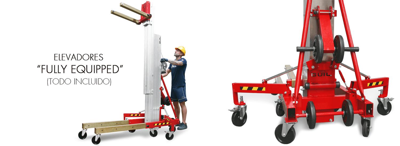 Elevador de carga TORO D