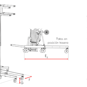 Elevador de carga TORO D-401