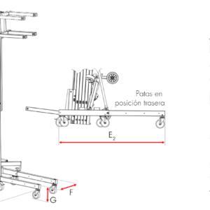 Elevador de carga TORO D-406