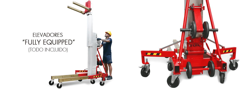Elevador de carga TORO D Compacta