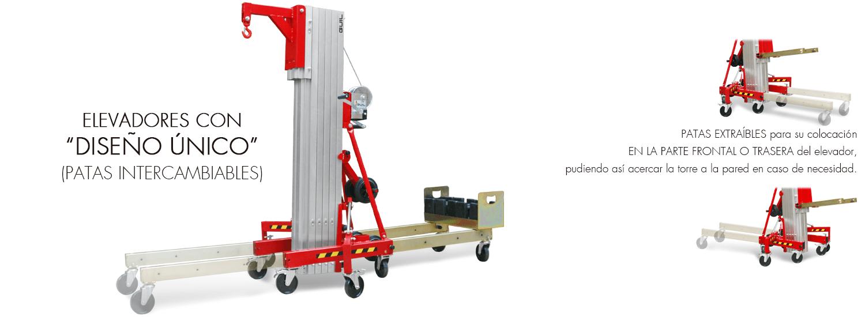 Elevador de carga TORO D Compacta Unica