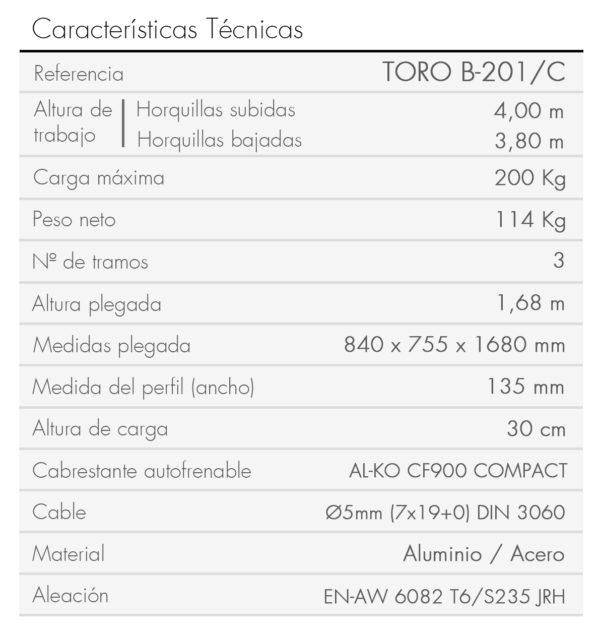 TORO B-201_C_es