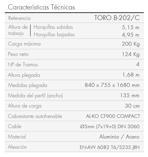 TORO B-202_C_es