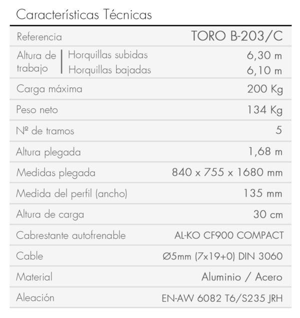 TORO B-203_C_es