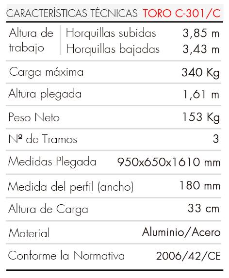 TORO C-301-C-es