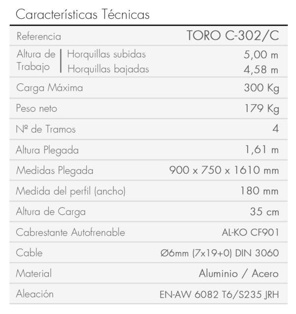 TORO C-302_C_es