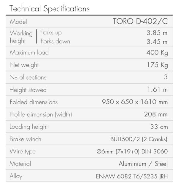 TORO D-402-C-en