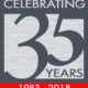 We are celebrating our 35th anniversary!