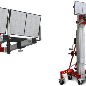 Adaptador de elevador de carga para iluminacion