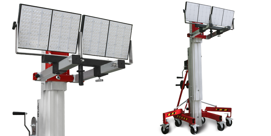 Adaptador Iluminación torre elevación de carga