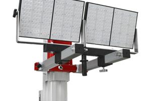 Adaptador de torre de elevación de carga para iluminacion