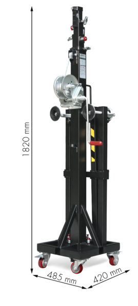 ELC-760 Plegada - Cotas SIN POMO SUPERIOR