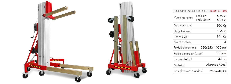Material Lifter TORO C-305