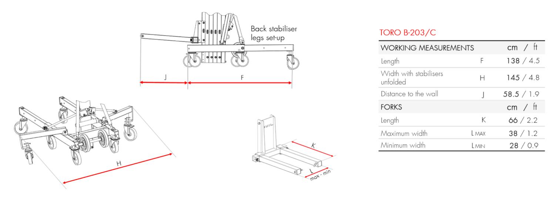 Material Lifter TORO B-203_C