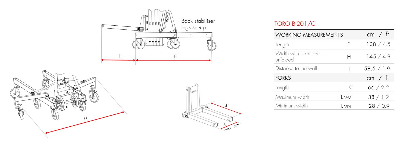 Material Lifter TORO B-201_C