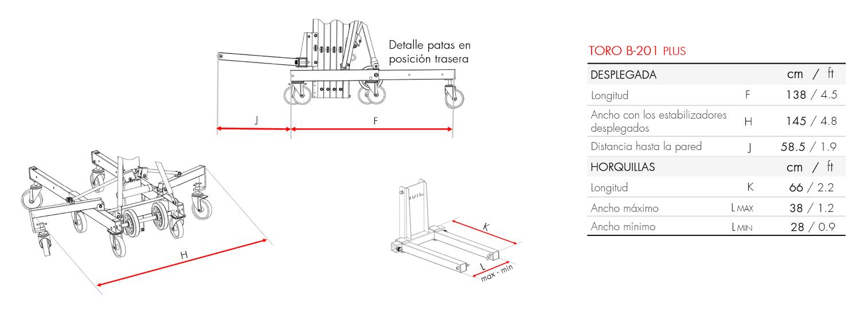 Elevador de carga TORO B-201-PLUS_es (5)