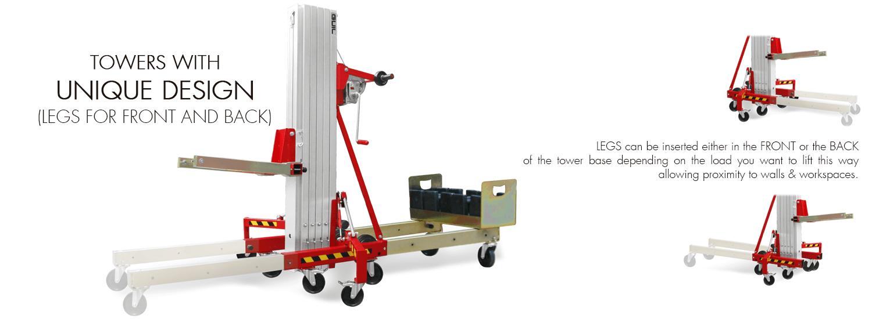Material Lifter TORO B-Unique-Compact