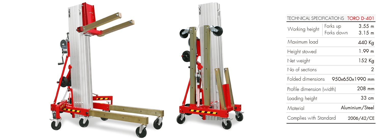 Material Lifter TORO D-401