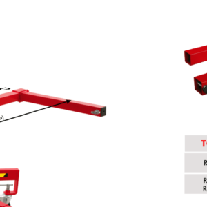 FORK WIDENER for TORO Material Lifts- TORO-ACT-09
